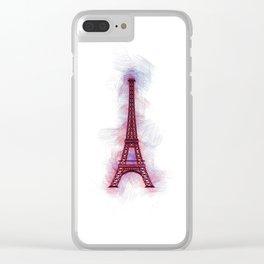 Eiffel Tower - Paris Clear iPhone Case