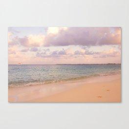 Dreamy Beach View Canvas Print