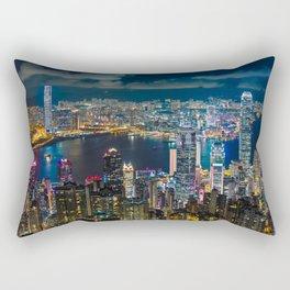 HONG KONG 10 Rectangular Pillow