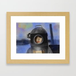 Heroine Framed Art Print