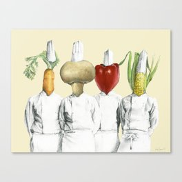 You are what you eat... Canvas Print