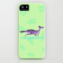 Real Velociraptor, Not as Big as You'd Think iPhone Case