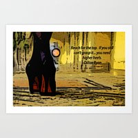 heels Art Prints featuring Heels by Dillon Ryan