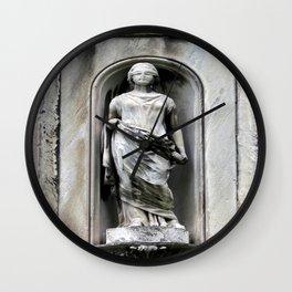 Broken Justice System Wall Clock