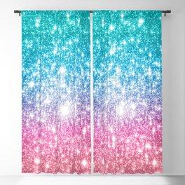 Mermaid Galaxy Sparkle Stars Blackout Curtain