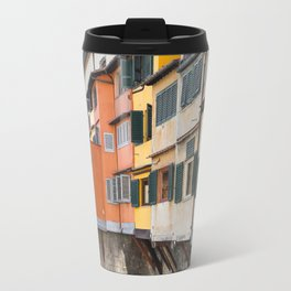 Ponte Vecchio Firenze Florence Tuscany Italy Travel Mug