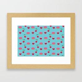 Don't be so kitschy Framed Art Print
