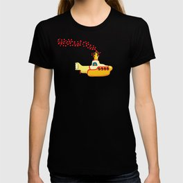 Yellow Submarine Bubbling Love T-shirt