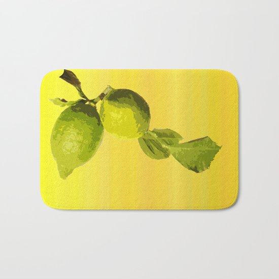 Summer Time Lime Bath Mat