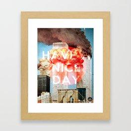 Buenos dias  Framed Art Print