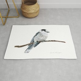 Gray Jay by Teresa Thompson Rug