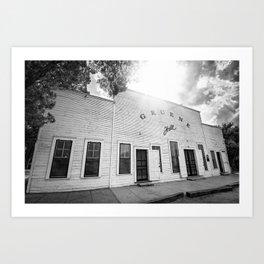 Gruene Hall - Oldest Dance Hall in Texas Art Print