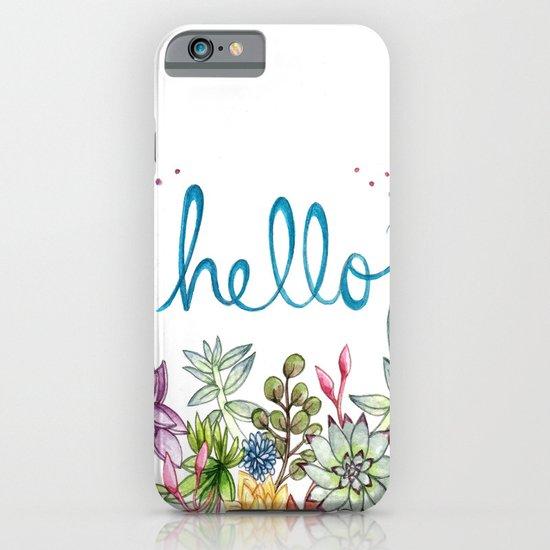 hello spring iPhone & iPod Case