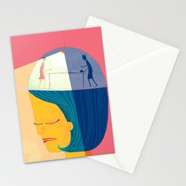 Thinky Pain Stationery Cards