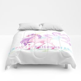Even Pretty Unicorns... Comforters
