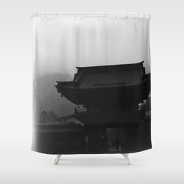 Nikko temple 001 Shower Curtain