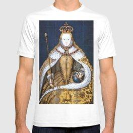 Queen Elizabeth I of England in Her Coronation Robe T-shirt