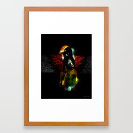 Hearts Not Sure.... Framed Art Print