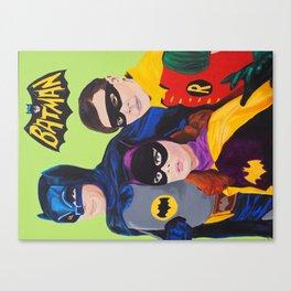 Bat Trio 66 Canvas Print