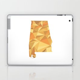 Alabama Pattern Map Art Laptop & iPad Skin