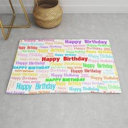 Happy Birthday! 1 Rug