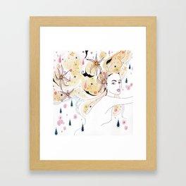 Rain Dreamer Framed Art Print