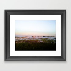 Gone For A Walk Framed Art Print