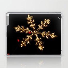 Abstract Golden Holiday Star Laptop & iPad Skin