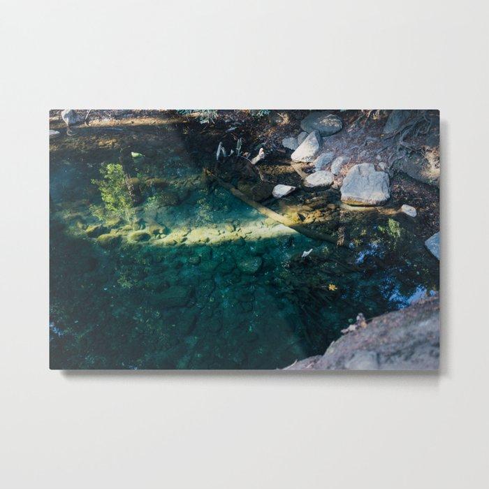 Big Sur River in The Morning Light Metal Print