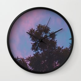 East Village Sunsets, NYC Wall Clock