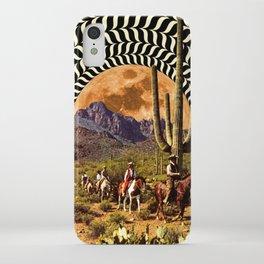 Illusionary Cowboys iPhone Case