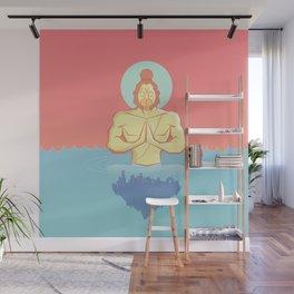 Hanuman Ji : Early morning Meditation  Wall Mural