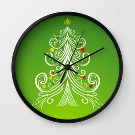 Christmas decorations 4 Christmas tree Wall Clock