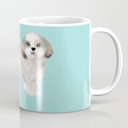 shih tzu funny farting dog breed pure breed pet gifts Coffee Mug