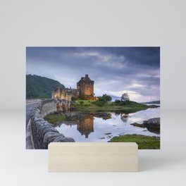 Scottish Castle II Mini Art Print