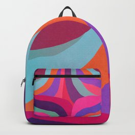Psychedelic pattern 05 Backpack
