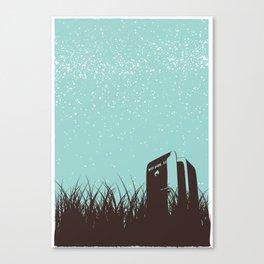 Fridge - Starry Skies Series 1 Canvas Print