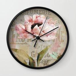 Le Fleur Jardin Wall Clock
