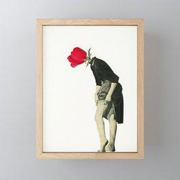 Hello Flower Framed Mini Art Print
