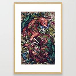 Momento Mori Framed Art Print