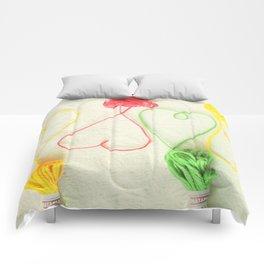 Heart Strings Comforters