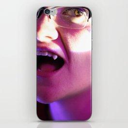 The Vampiric Saturnine Gaze of Thirst iPhone Skin