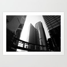 Hong Kong Architecture Art Print