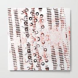 Hand Made Print 2 Metal Print