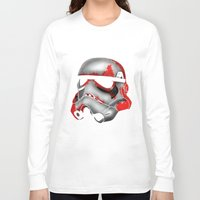 storm trooper Long Sleeve T-shirts featuring Storm Trooper by Art of Fernie