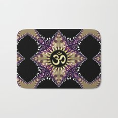 Golden Berry Om Sunshine Bath Mat