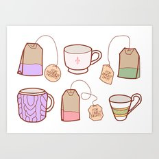 idealist tea Art Print
