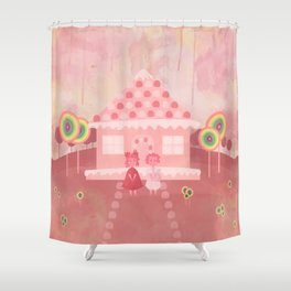 Candy Fields (Hansel & Gretel) Shower Curtain