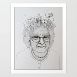 The Old Woman Art Print