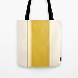 Marigold & Crème Vertical Gradient Tote Bag